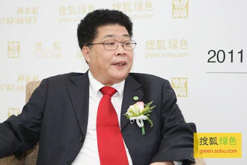 搜狐绿色专访大自然家居副总裁佘建彬