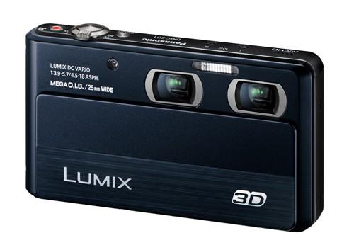 3D卡片机添新丁 松下DMC-3D1今日发布
