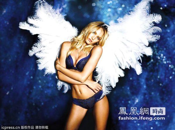 超模化身性感天使组图