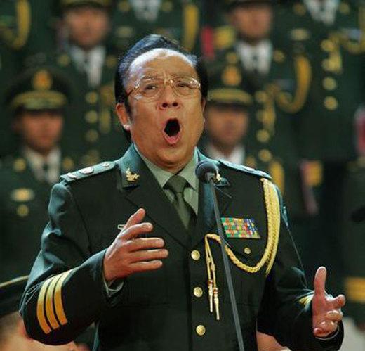 杨洪基少将:总政歌舞团著名歌唱家、国家一级演员.-细数是将星军