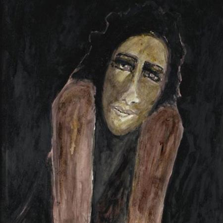 图片说明 泰戈尔绘画作品