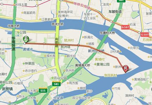 展馆至餐厅交通导航图