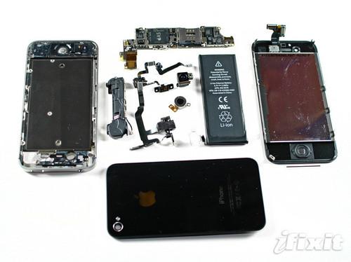 苹果iphone 4s所以部件