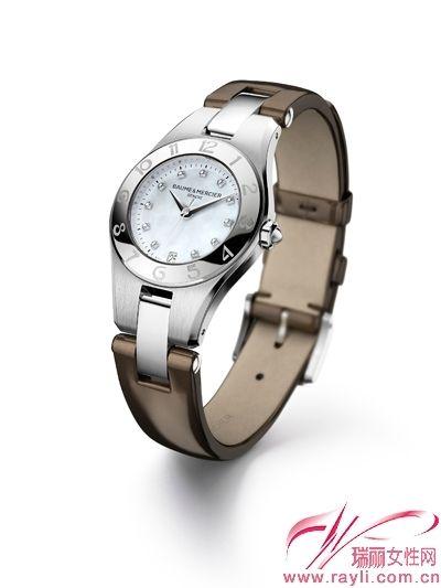 ...钟表品牌名士为灵霓(Linea)系列可更换表带所精选的三款时尚...