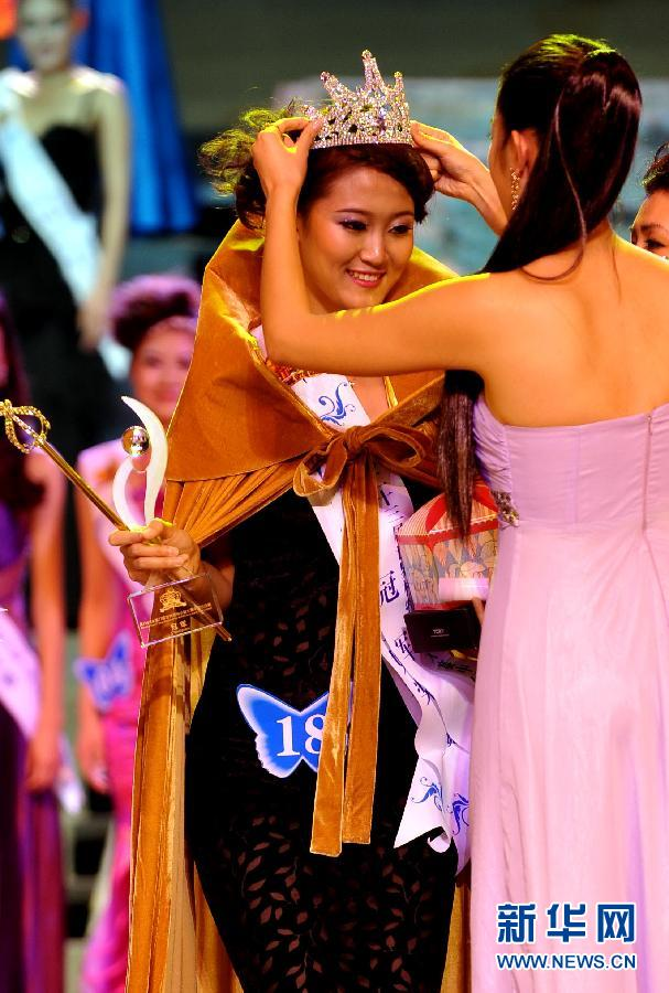 11月9日,第23届世界模特小姐大赛中国总决赛在深圳锦绣中华民俗文化