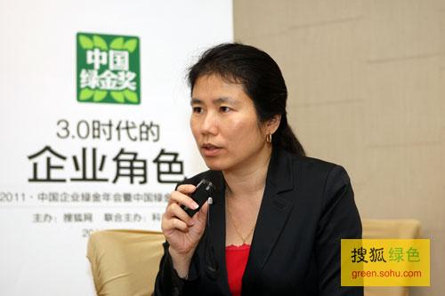 搜狐绿色专访飞利浦大中华区副总裁徐申娟