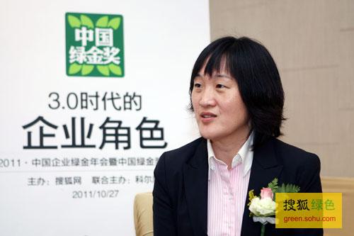 搜狐绿色专访联合利华中国战略沟通总监吴亮
