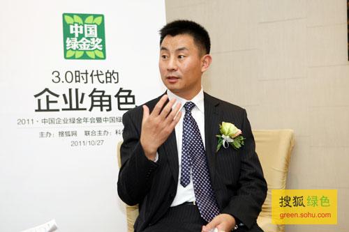 搜狐绿色专访青岛啤酒股份有限公司生产管理总部部长卢绪军