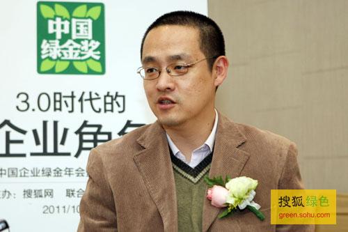 搜狐绿色专访索尼(中国)有限公司公共关系部副总监姜京源