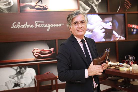 Ferragomo男士鞋履及配饰产品总监 Javier Suarez