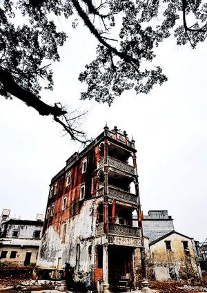 观澜古墟深圳规模最大的古碉楼群
