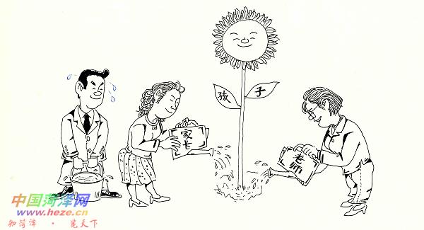 感恩节儿童手绘图片