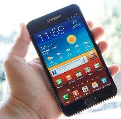 3英寸屏幕的galaxy note,这是目前全球屏幕最大的手机.