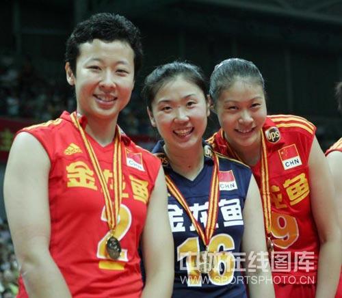 2008年 大奖赛北仑站 中国3-2巴西