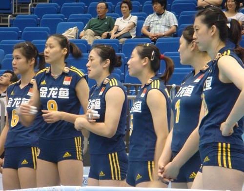 2008年 大奖赛总决赛 中国1-3巴西