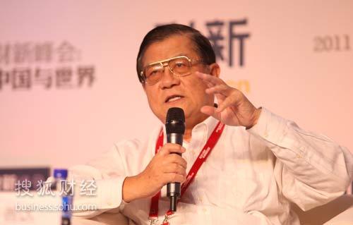 国家税务总局前副局长许善达(图片来源:搜狐财经)
