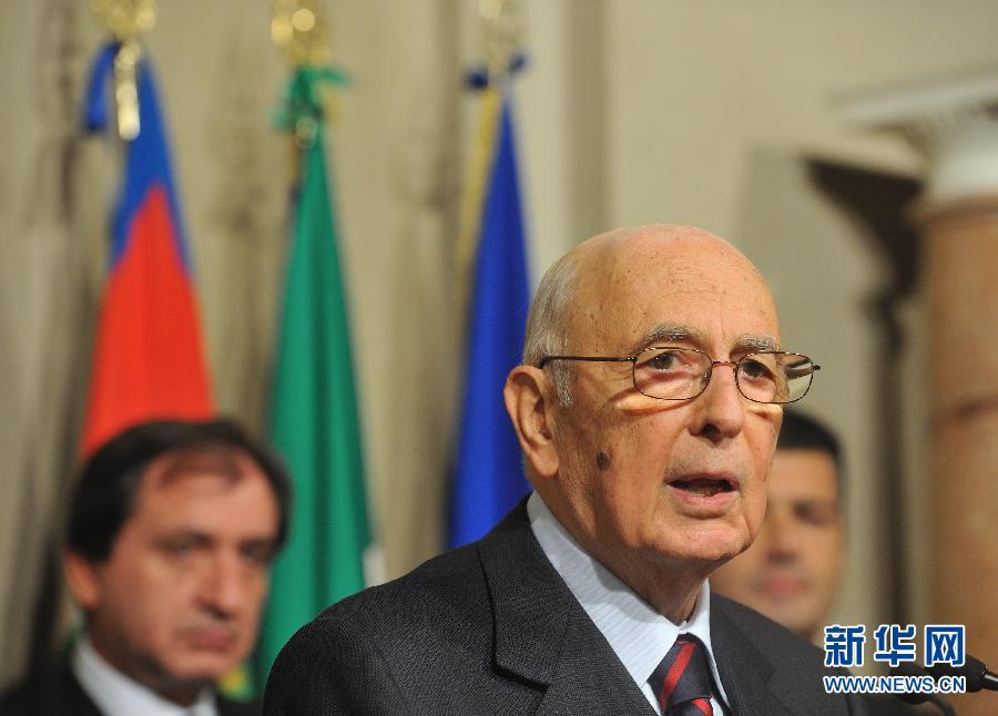 蒙蒂被任命为意大利过渡政府总理(组图)