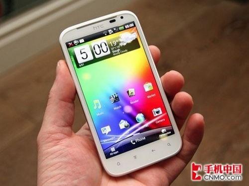 HTC Sensation XL正面图