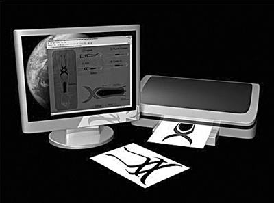 """美国青蛙设计公司设计的一款名为""""Dattoo""""的设备。"""