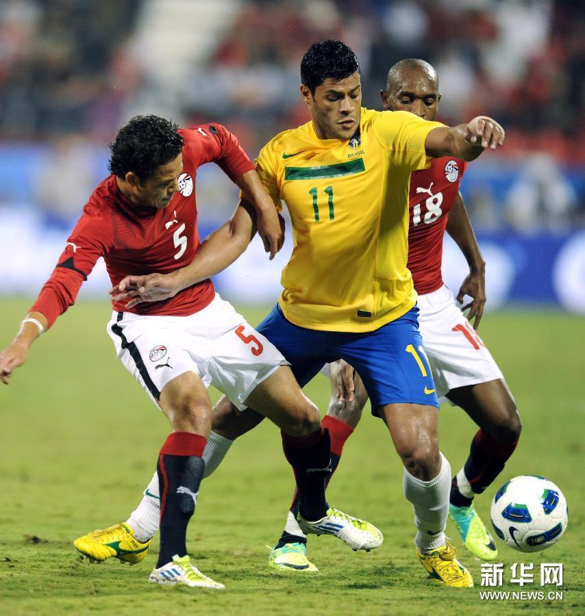 国际足球友谊赛巴西_友谊赛:巴西胜埃及[高清](组图)-搜狐滚动