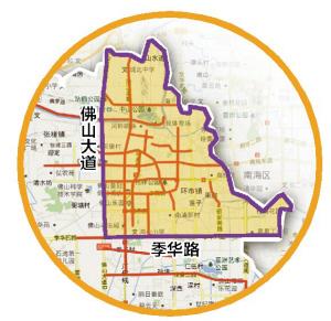 为此,禅城区政府委托佛山市城市规划勘测设计研究院与佛山市城市交通图片