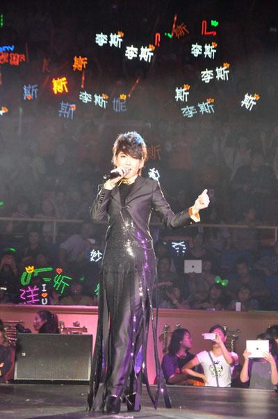 刘忻在巡演现场