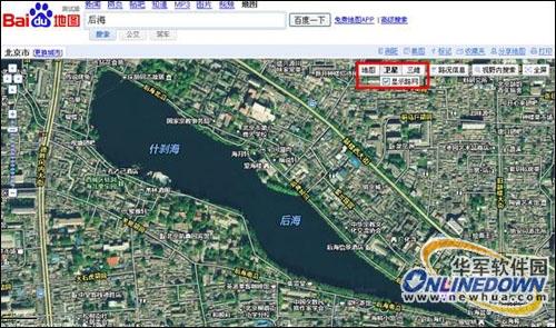 百度地图上线卫星图 产品布局全线丰富