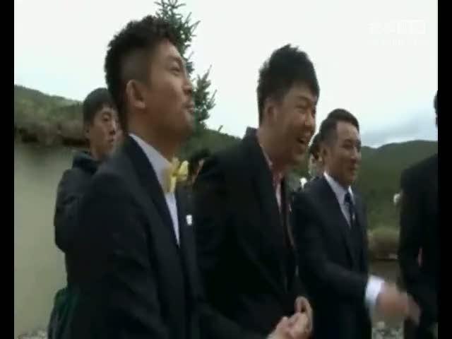 视频:张杰谢娜结婚接亲全过程