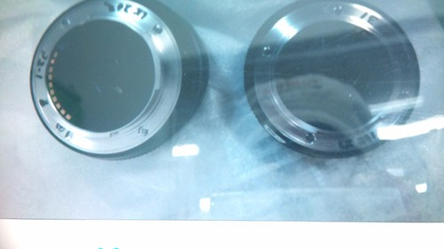 富士微单相机外观照片