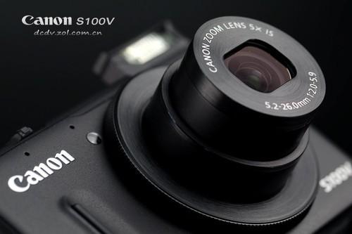 佳能S100V 镜头