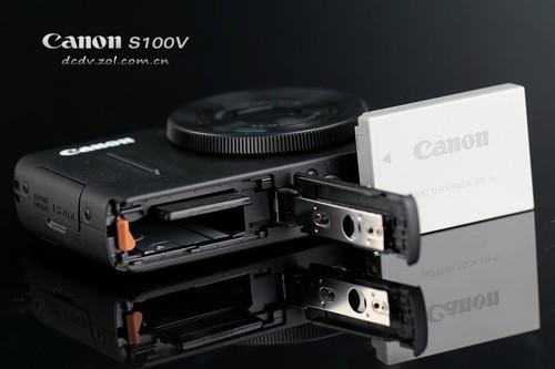 佳能S100V 电池卡仓
