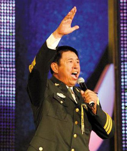 程志:总政歌舞团国家一级演员,副军级待遇.-细数军中明星 宋祖英