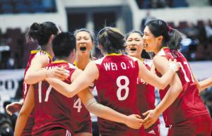 能以五局苦战才输给实力强大的美国队,中国女排看到了未来的希望。