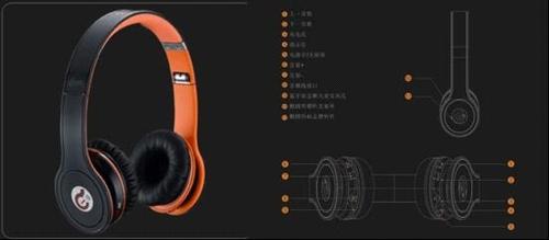 G15头戴式无线蓝牙音乐耳机-Syllable无线蓝牙耳机 超High听觉盛宴