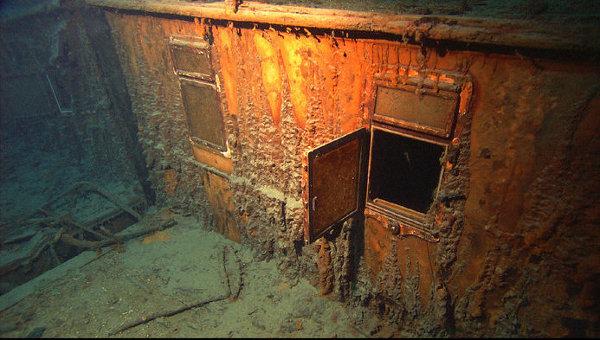 资料图:泰坦尼克号沉船已经在海底沉睡了一个世纪