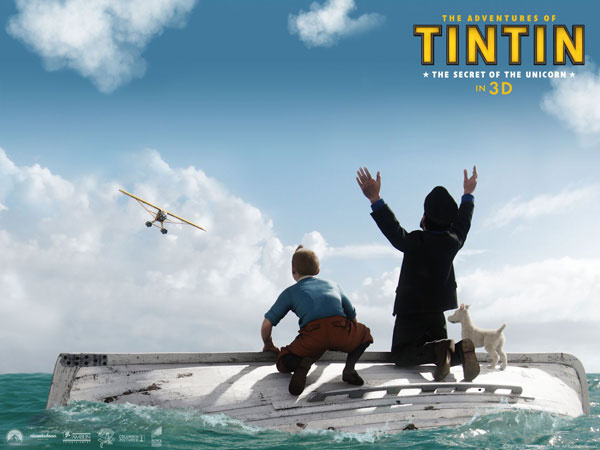 丁丁和船长如何逃离茫茫大海前往目的地