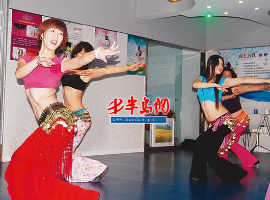 年会舞蹈培训风生水起