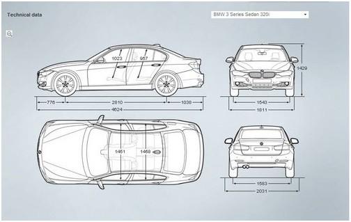 2012款宝马3系正式亮相 三款车型齐登场(组图)图片