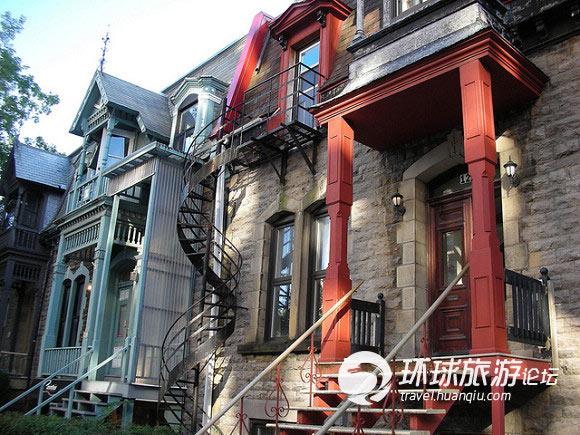 设计之城蒙特利尔 那些不怕小偷的特色楼梯