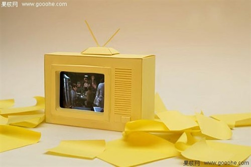 幼儿园手工制作电视机图片