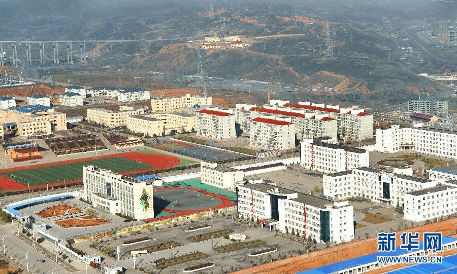 俯瞰陕西神木县新貌