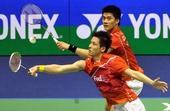 图文:香港羽毛球公开赛赛况 前后配合