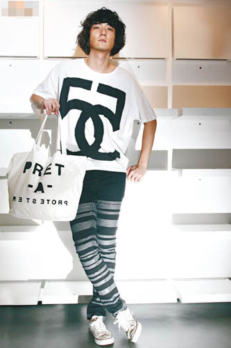 5PREVIEW孖5图案Tee