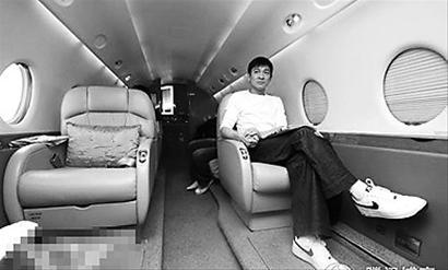 刘德华私人飞机曝光