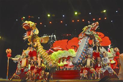 山西农村大棚歌舞团