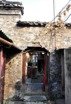 图二:安乐巷陆顺兴布厂。