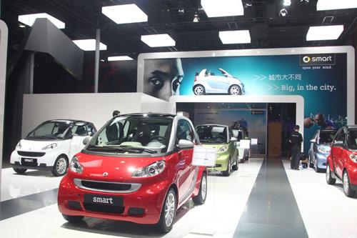 2011广州车展smart创意展台