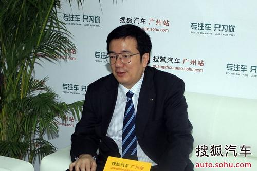 广州汽车集团乘用车有限公司总经理 吴松