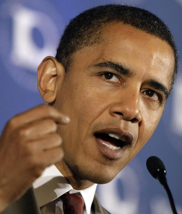 美国总统奥巴马资料图片