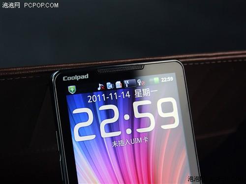 天翼5吋屏双核旗舰手机 酷派9900评测